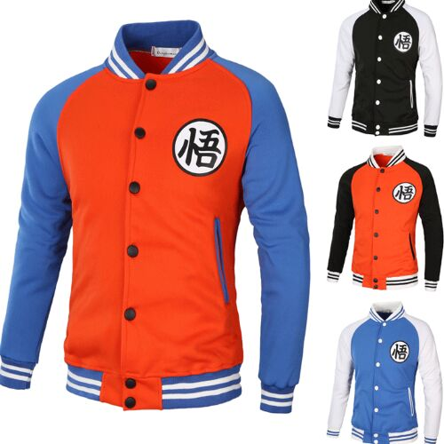 UNM~Men's sleeves baseball uniform color coat