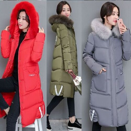 UNM~Women's Down cotton padded winter plus size fashion Coat