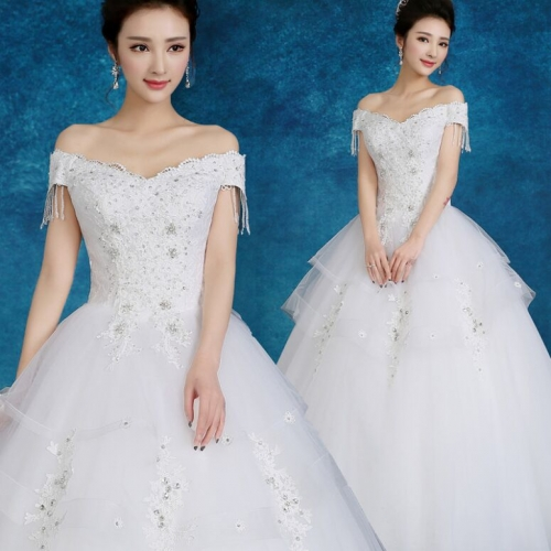 11K05W04#Wedding Dresses