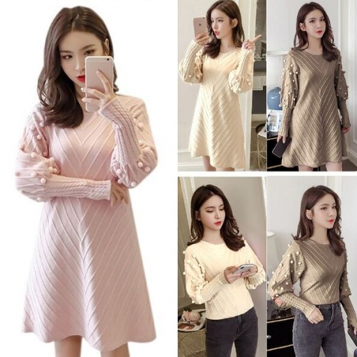 158587#Sweater Dress