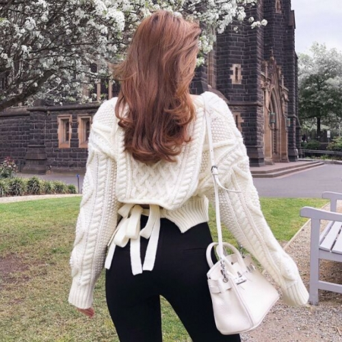1566B29#Sweater Blouse