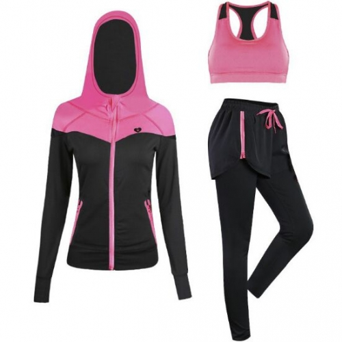 15TZ031#Fitness suit (3pcs))