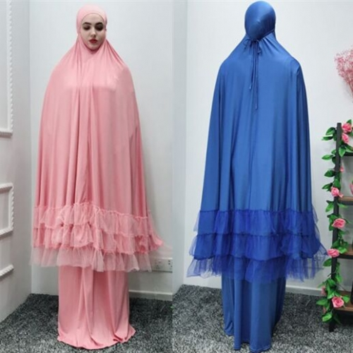 28PA10002#Muslim Headscarf Shawl+Dress
