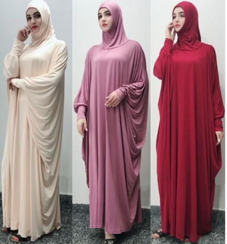 28PA10003#Muslim Headscarf  Dress