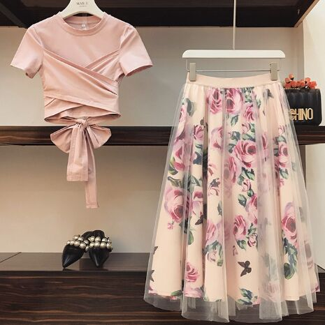 151310#Short sleeve 2pcs Suit