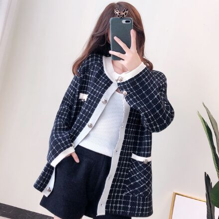 371925#Sweater coat
