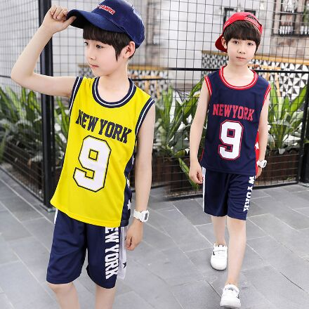 61HQ8#Children's 2pcs vest Suit