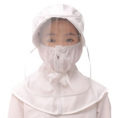 71B0050#Child'Anti-spray protective hat shawl