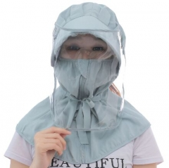 71B0044#Women'Anti-spray protective hat shawl