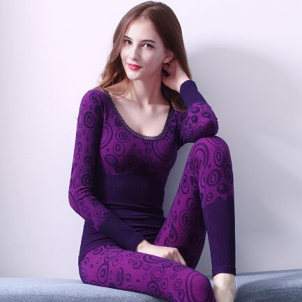 588208#2pcs Thermal underwear Suit