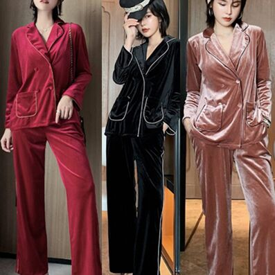911117#2pcs pajamas Suit