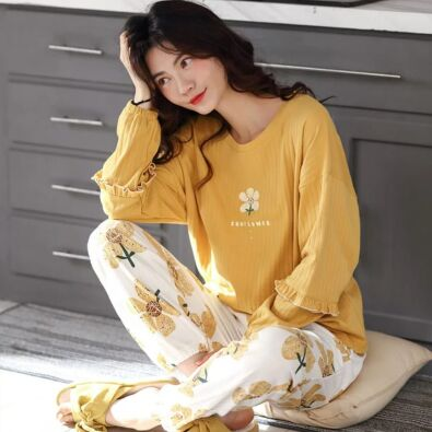 15Q21F5#2pcs pajamas Suit