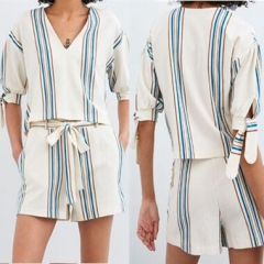 0787114#Blouse+Shorts Suit