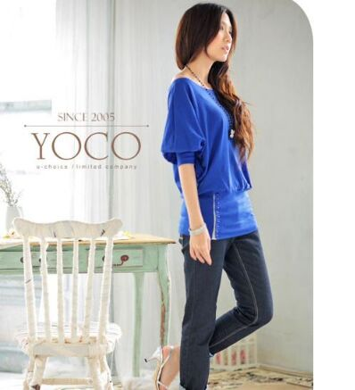 19118913#Blouse-Blue