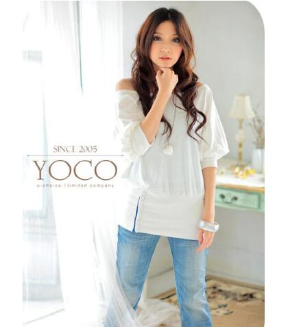 19118904#Blouse-White