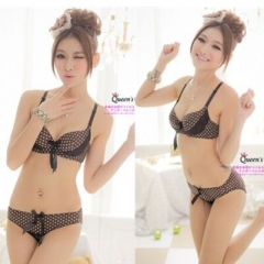 35C08#Women's Underwear-Coffee