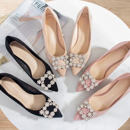 79295-12#3.5cm High Heels Shoes