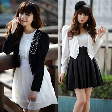 321660#Short Blazer Jacket