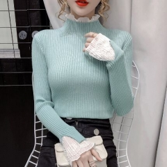 156107#knitted Sweater Top